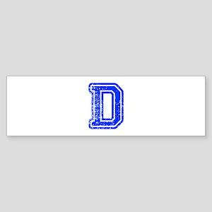 D-Col blue Bumper Sticker