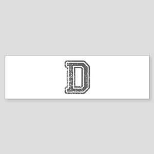 D-Col gray Bumper Sticker