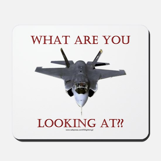 F35 Lightning II Mousepad