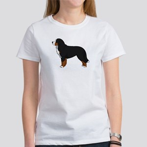 Bernese Mt Dog Women's Classic White T-Shirt