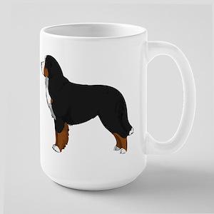 Bernese Mt Dog 15 oz Ceramic Large Mug