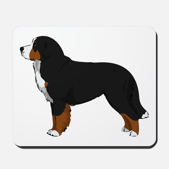Bernese Mt Dog Mousepad