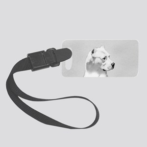 Dogo Argentino Small Luggage Tag