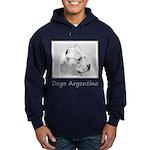 Dogo Argentino Hoodie (dark)