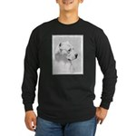 Dogo Argentino Long Sleeve Dark T-Shirt