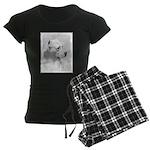 Dogo Argentino Women's Dark Pajamas