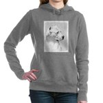 Dogo Argentino Women's Hooded Sweatshirt