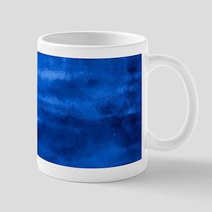 Beautiful blue artistic abstract texture Mugs