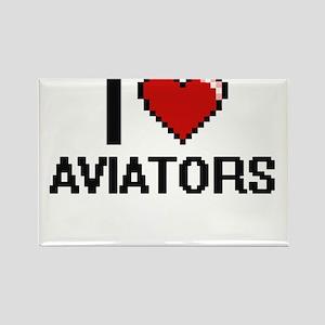 I love Aviators Magnets
