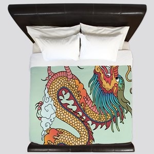 Chinese Dragon King Duvet