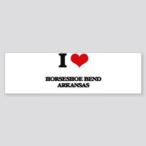 I love Horseshoe Bend Arkansas Bumper Sticker