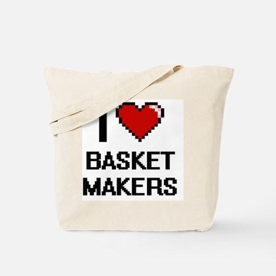 I love Basket Makers Tote Bag
