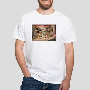VAUDEVILLE CRAZE white t-shirt