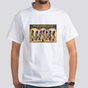 BURGOMASTER white t-shirt