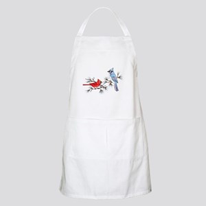 BLUEJAY AND CARDINAL Apron