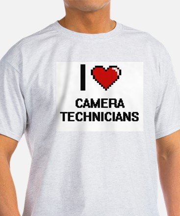 I love Camera Technicians T-Shirt