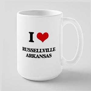 I love Russellville Arkansas Mugs