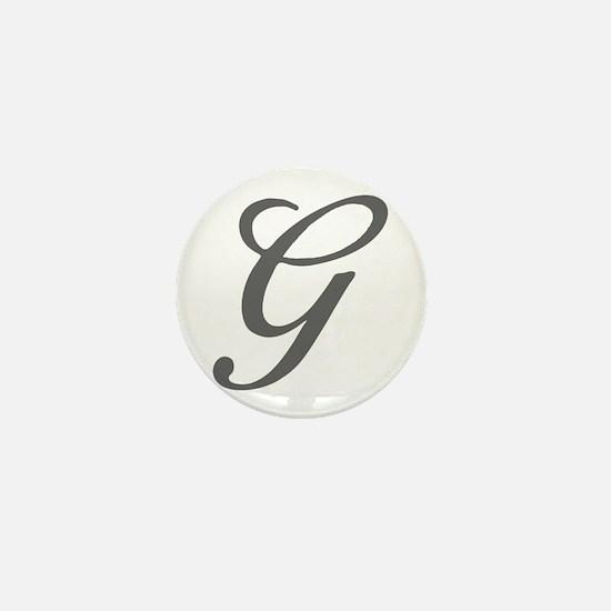 G-Bir gray Mini Button