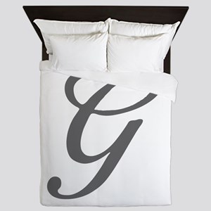 G-Bir gray Queen Duvet