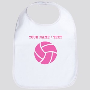Pink Volleyball (Custom) Bib