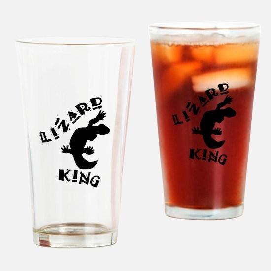 Lizard King Drinking Glass