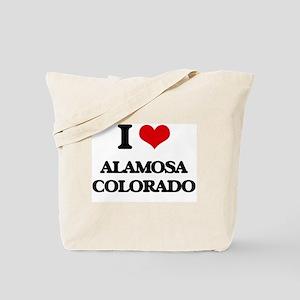 I love Alamosa Colorado Tote Bag