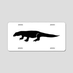 Komodo Silhouette Aluminum License Plate