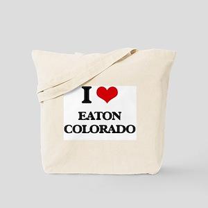 I love Eaton Colorado Tote Bag