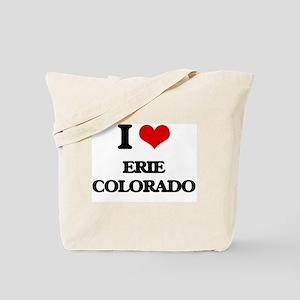 I love Erie Colorado Tote Bag