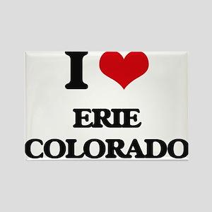 I love Erie Colorado Magnets