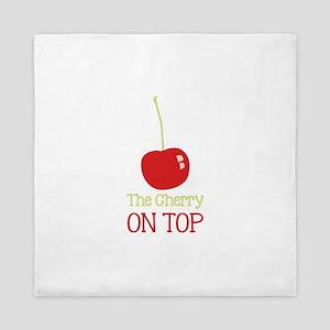 Cherry On Top Queen Duvet