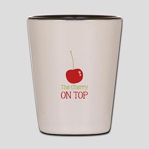 Cherry On Top Shot Glass