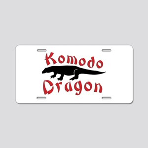 Komodo Dragon Aluminum License Plate