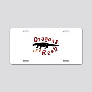 Dragons Are Real Aluminum License Plate