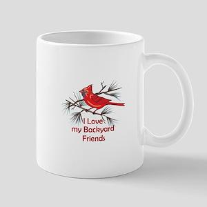 BACKYARD FRIENDS Mugs