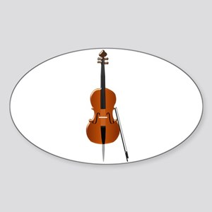 Cello Sticker