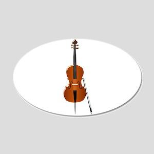 Cello Wall Sticker