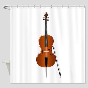 Cello Shower Curtain