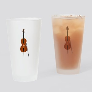 Cello Drinking Glass