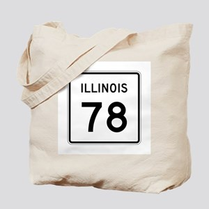 Route 78, Illinois Tote Bag