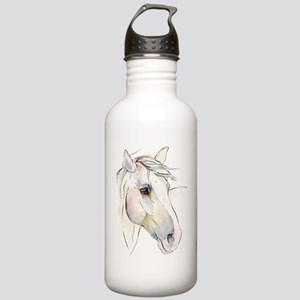 White Horse Eyes Stainless Water Bottle 1.0L