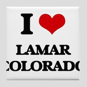 I love Lamar Colorado Tile Coaster