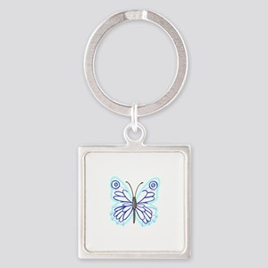 BUTTERFLY APPLIQUE Keychains