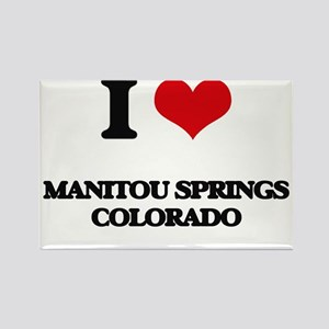 I love Manitou Springs Colorado Magnets