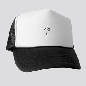 violin woman Trucker Hat