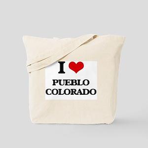 I love Pueblo Colorado Tote Bag