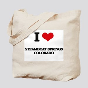I love Steamboat Springs Colorado Tote Bag