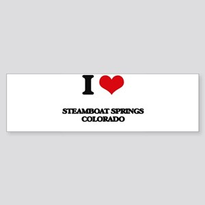 I love Steamboat Springs Colorado Bumper Sticker
