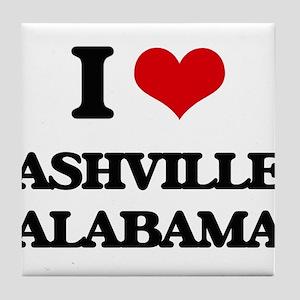 I love Ashville Alabama Tile Coaster