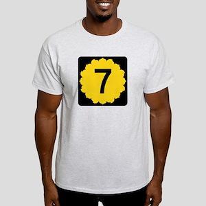 K-7, Kansas Light T-Shirt